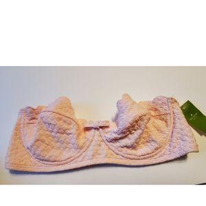 Kate Spade Pastry Pink Bikini Top